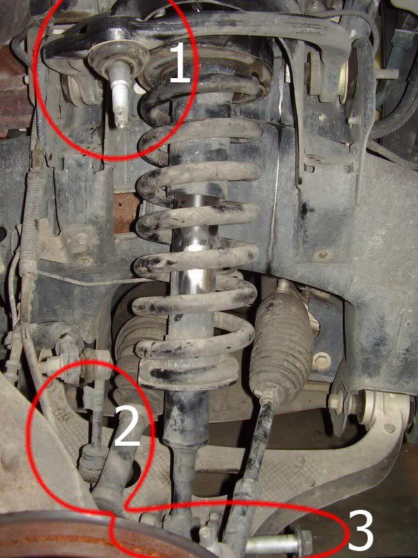 2002 Ford Taurus Front Suspension Diagram