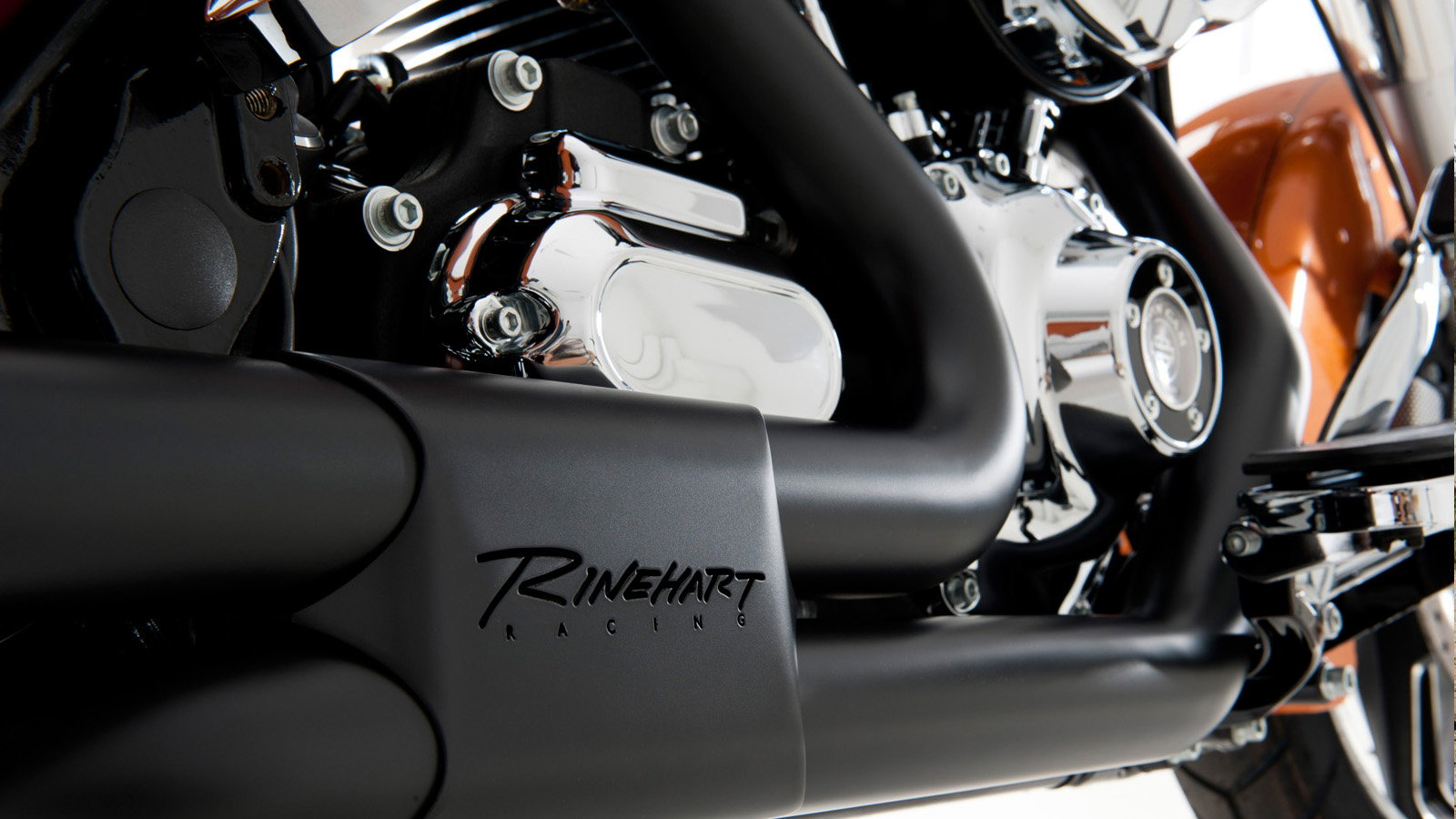 rinehart racing slimline exhaust system