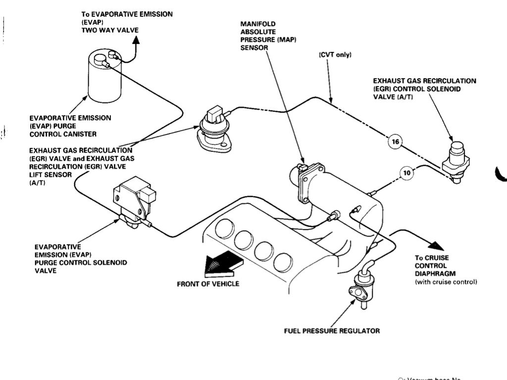 99 Civic Exhaust Diagram