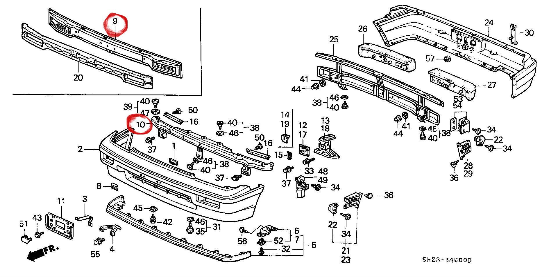 90 Honda Civic Wiring Diagram