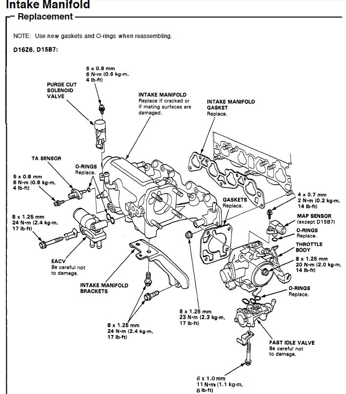 D16y8 Wire Vtec Diagram