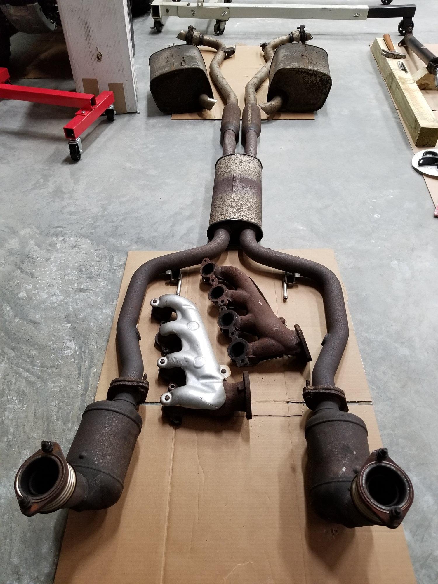 2009 pontiac g8 gt 6 0 l76 ls2 complete exhaust