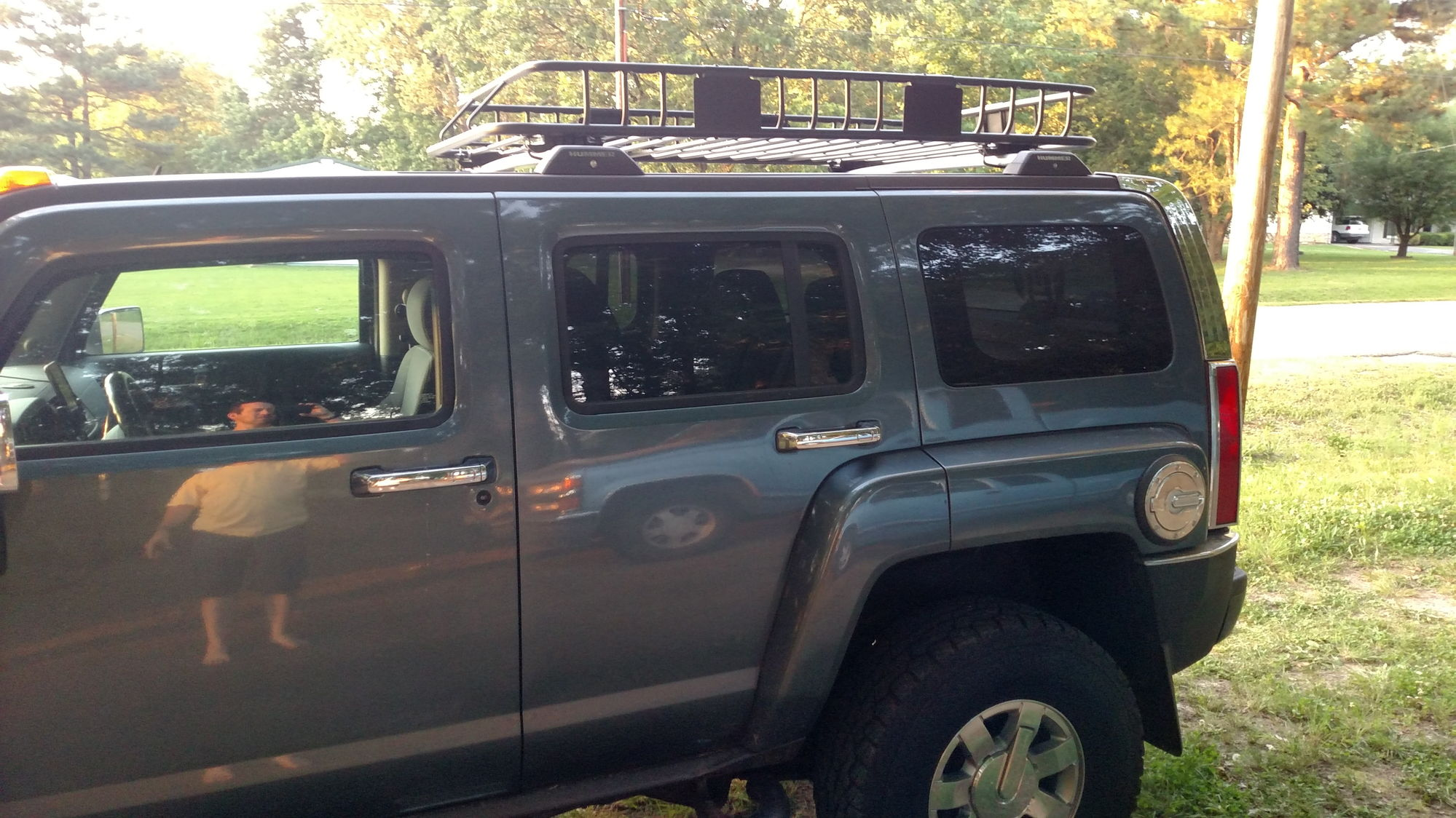 Hey there 2006 HUMMER H3 owner self customized Transformers