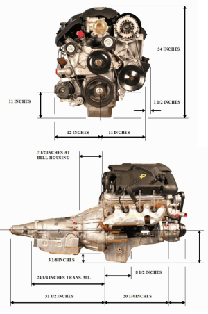 In need of engine and transmission size diagrams  S2KI
