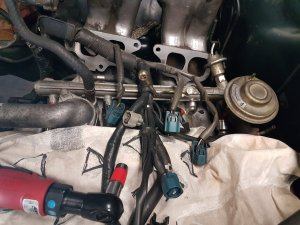 Help with 1995 22RE fuel injector wires  YotaTech Forums