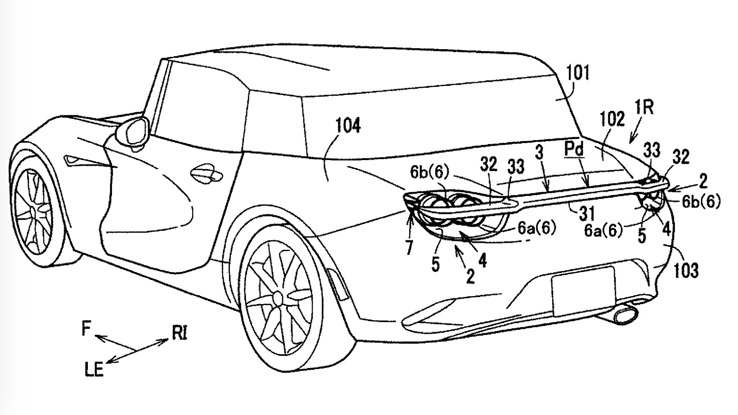 Mazda Patents Active Rear Spoiler Design Inspired By Rx Vision