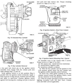 Jeep Cherokee XJ 1984 to 2001 How to Replace Ignition