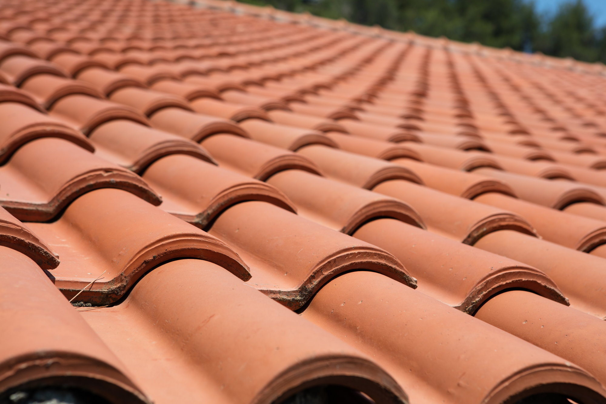 how to fix a leak on a clay tile roof