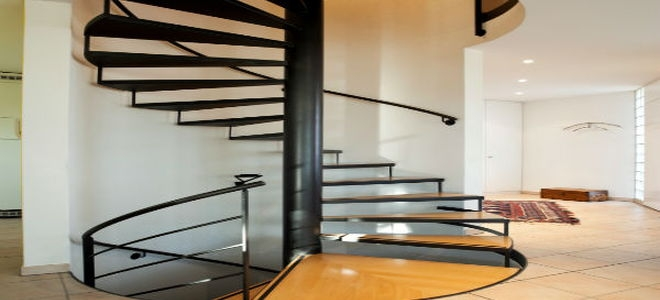 How To Measure For A Spiral Staircase Doityourself Com   Spiral Staircase For Outside Deck   Exterior   Spiral Stair Design   Attractive   Porch   Rooftop Deck