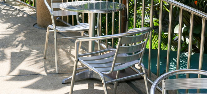 aluminum patio furniture care