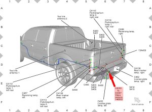 Ford F150 F250 Install Rearview Backup Camera How to