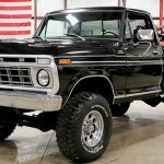 Black On Black 1978 Ford F 250 Looks Picture Perfect Ford Trucks