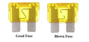 Mini Cooper 2001 to 2006 Fuse Box Diagram