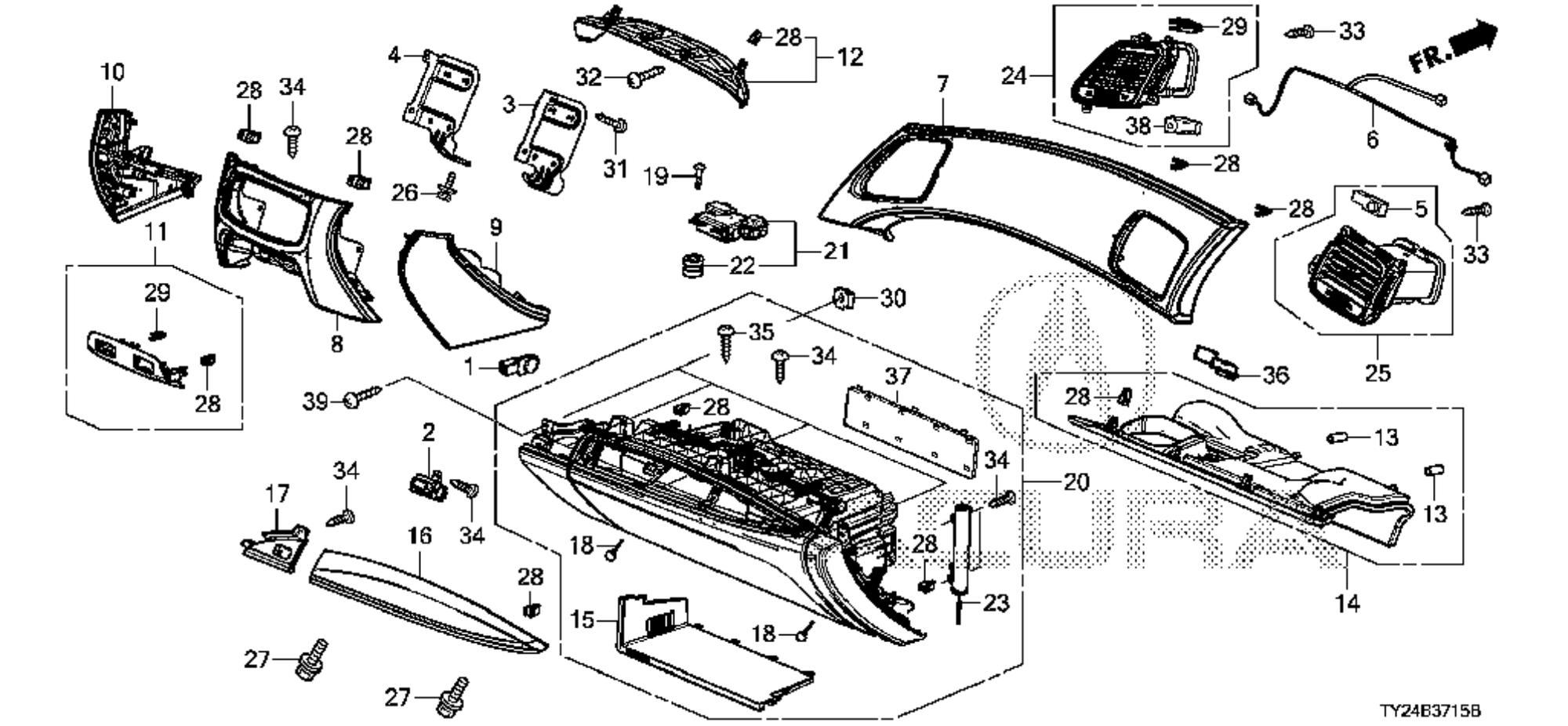 Acura Legend Motor Mount Diagram