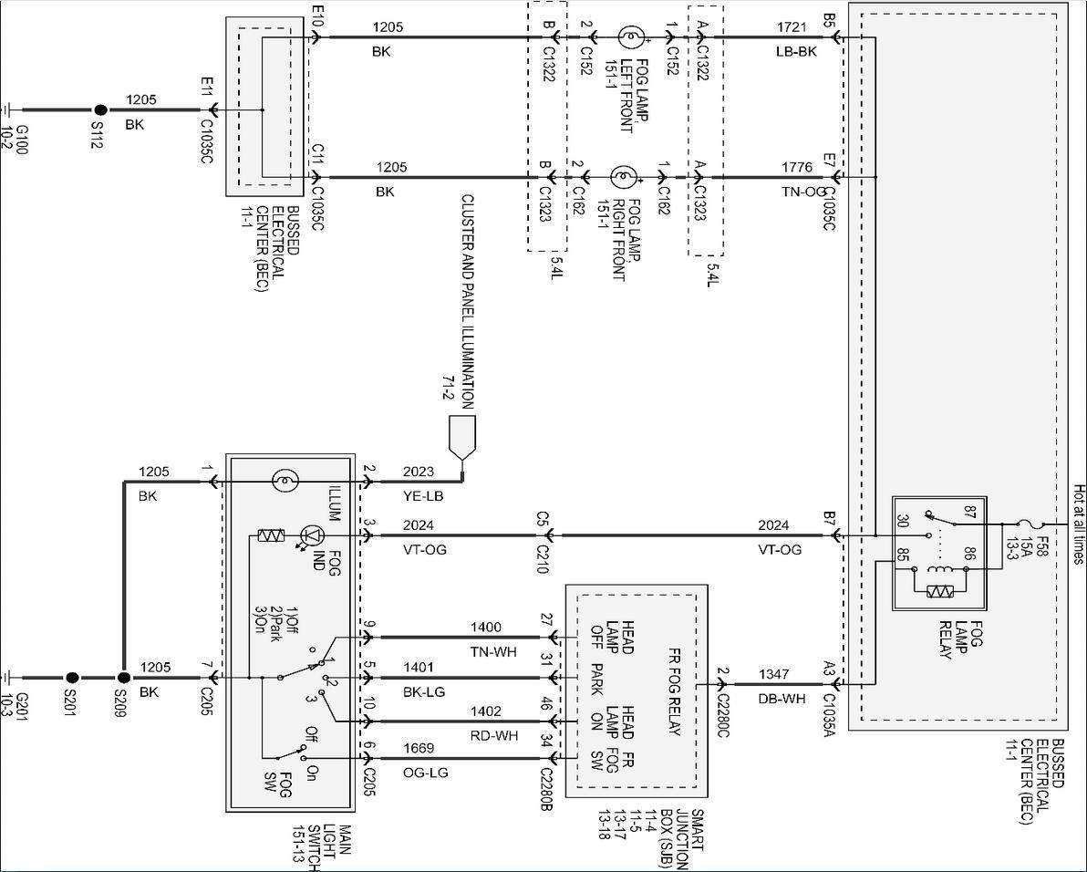 Swapping Headlamp Switch To Switch W Fog