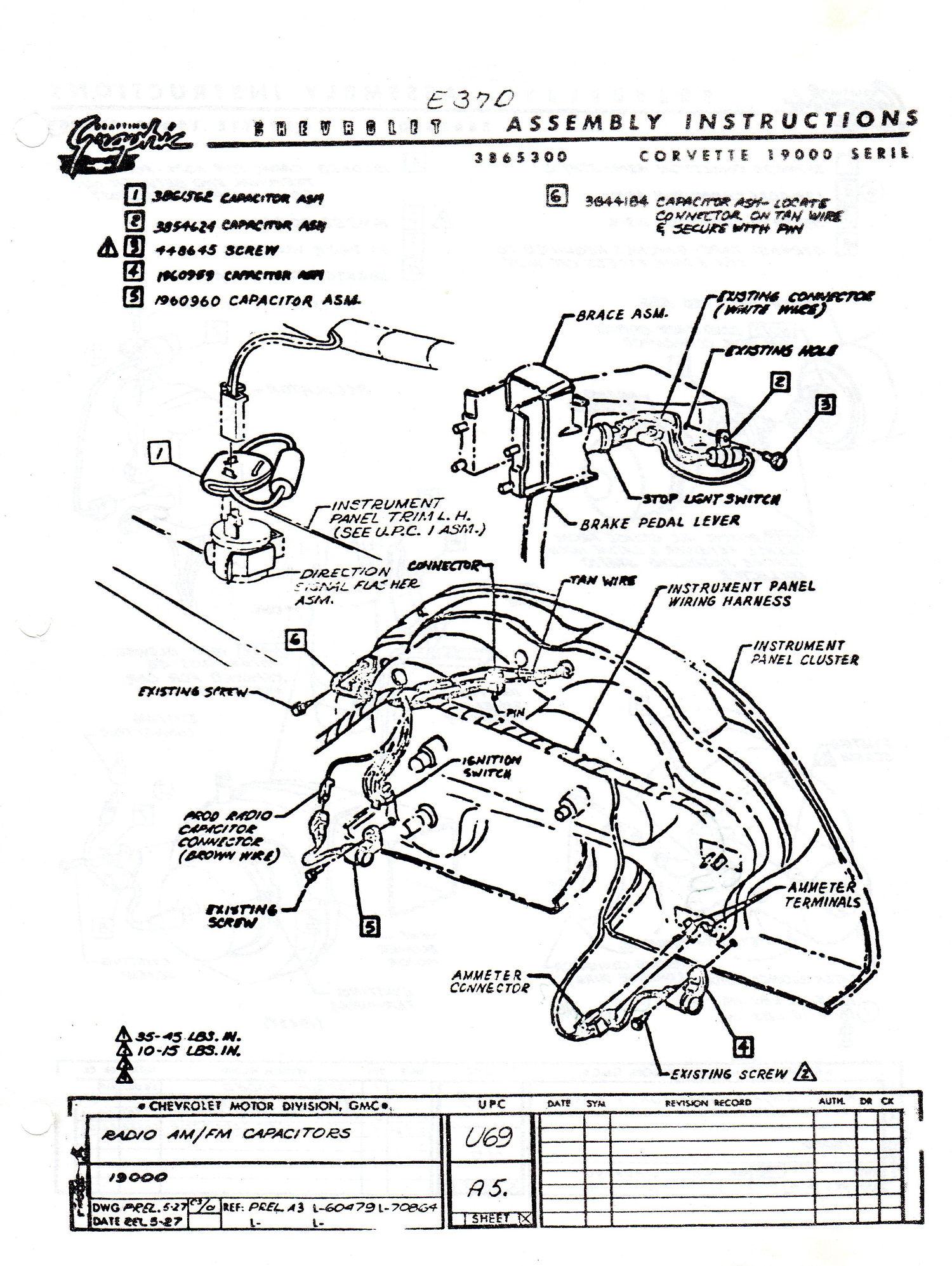 Parking Brake Warning Capacitor