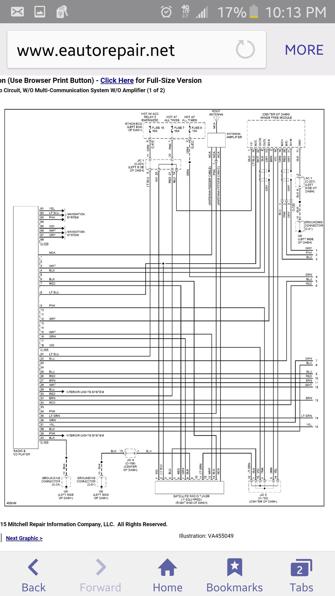 Mitsubishi Asx Radio Wiring Diagram