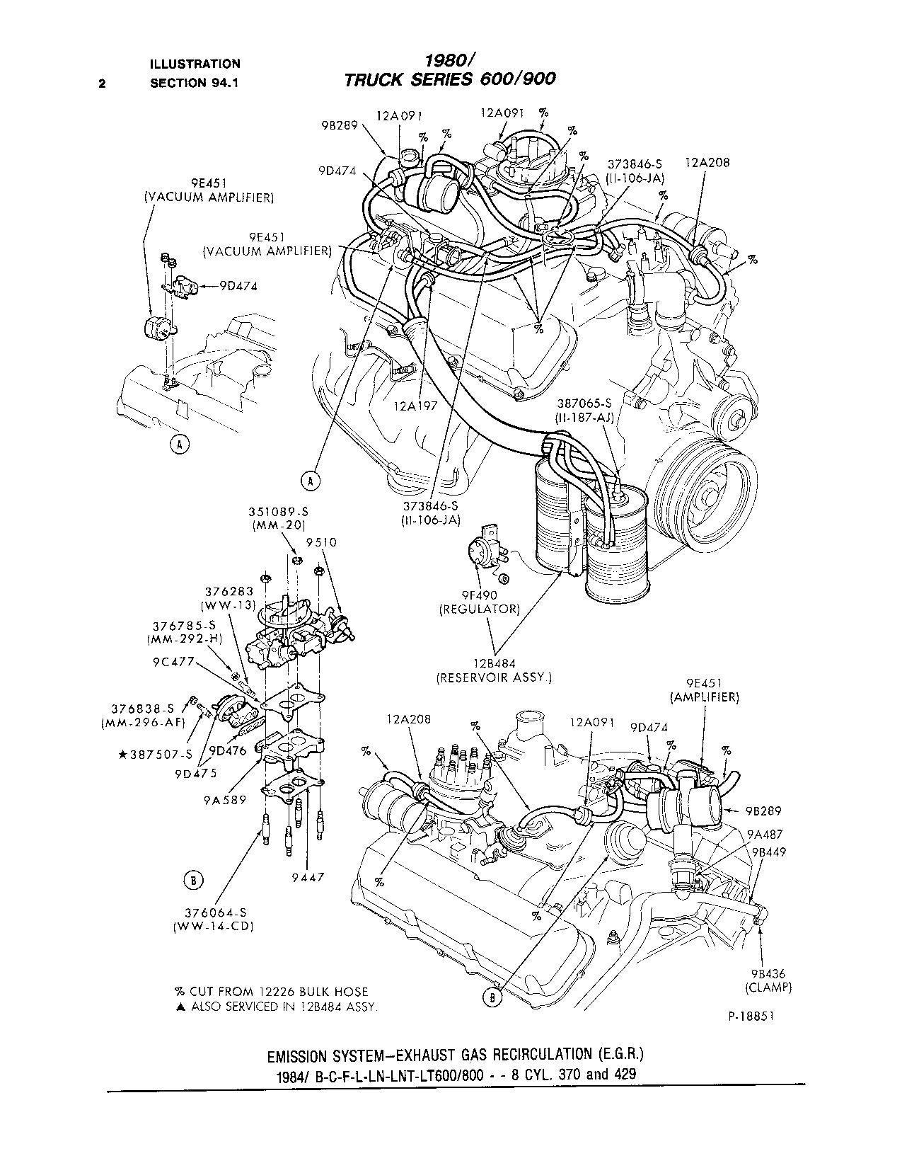 F700 370 4v Carb Where Dose The Egr Get Its