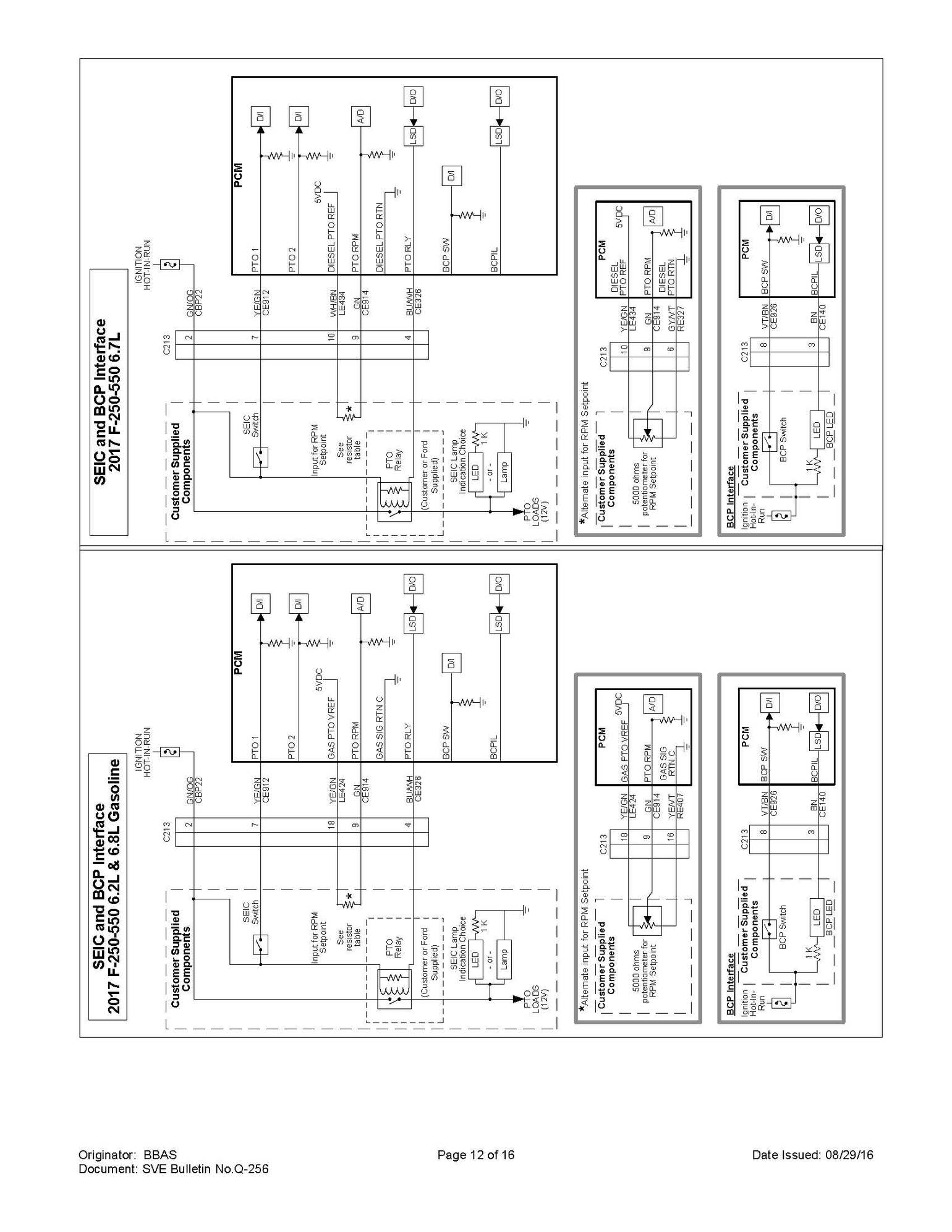 Ford Truck Wiring Diagram Fleet Upfit