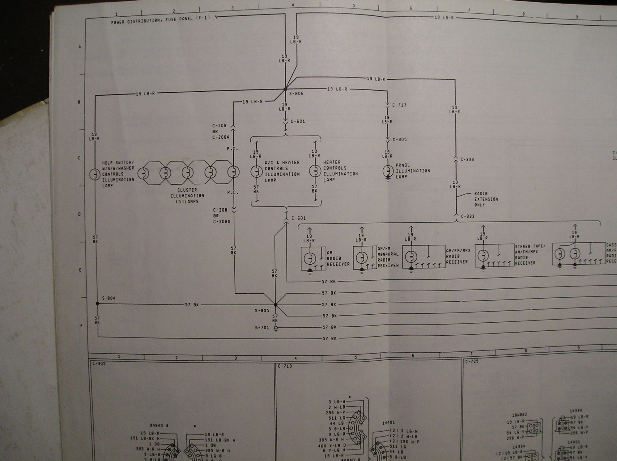 F100 Cluster Connector Wiring Diagram
