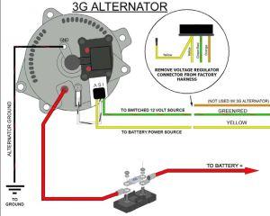 Alternator and High beam light not working!!  Ford Truck