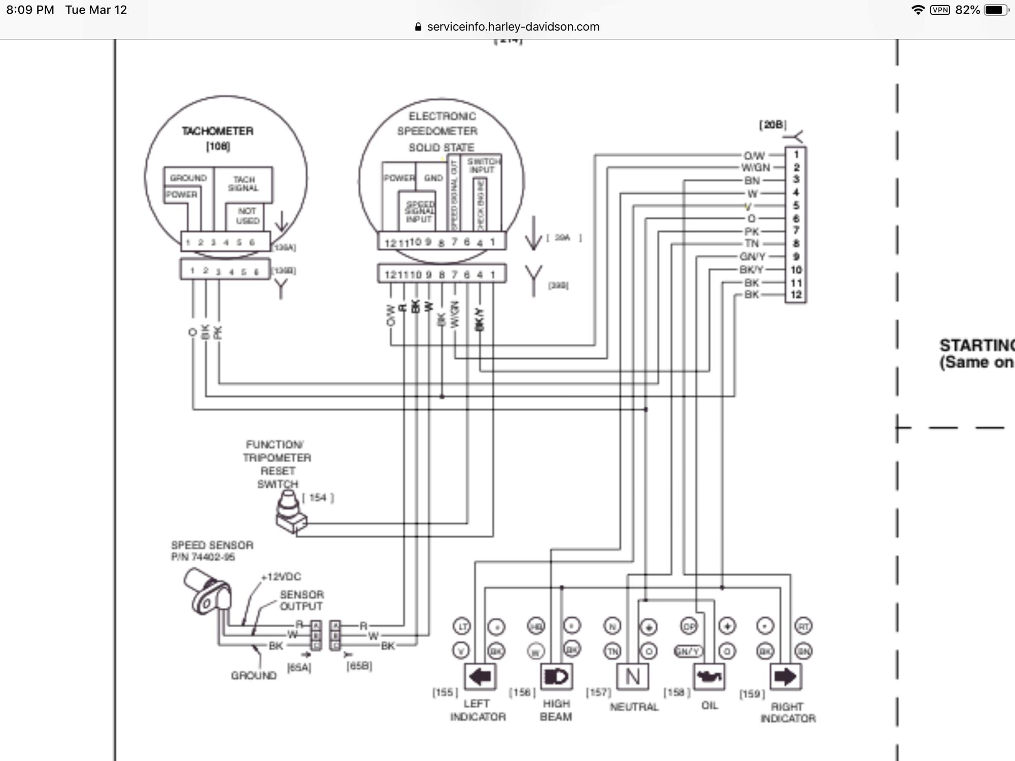 Xl S Tachometer Wiring