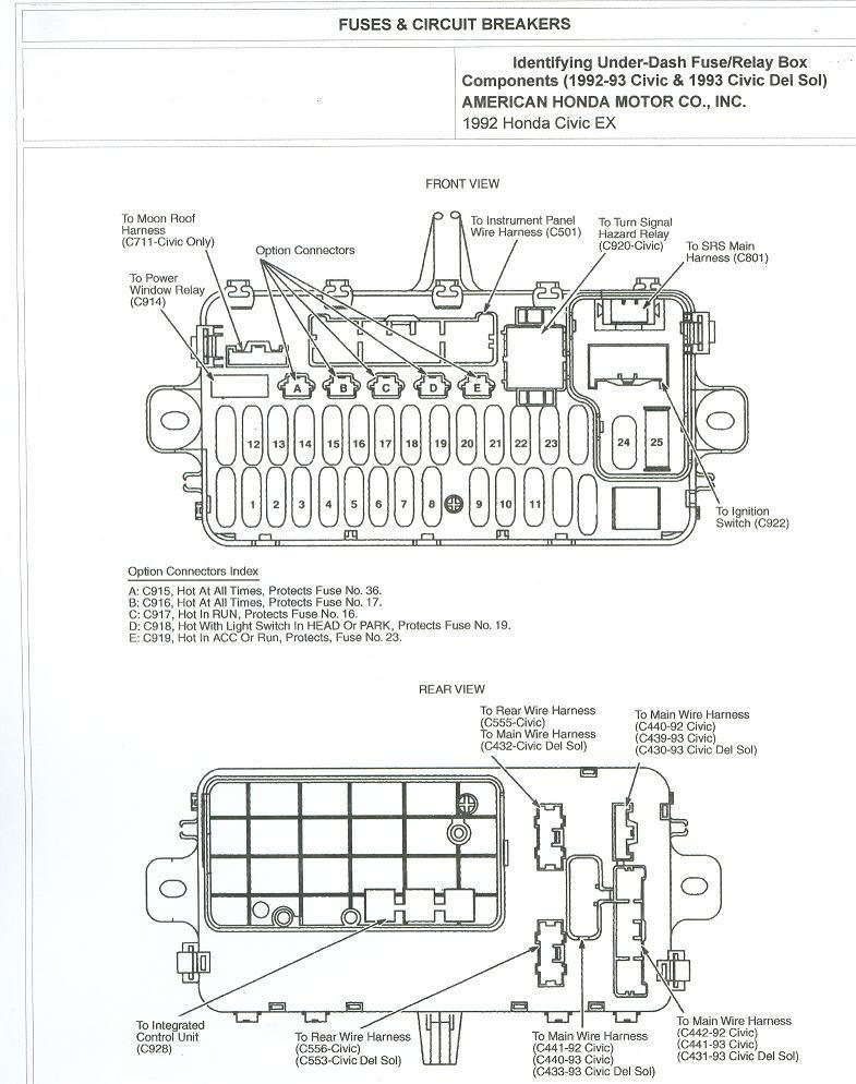 95 civic lx wiring diagrams