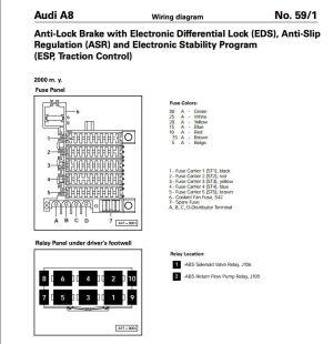 ABS error light  00301 Return Flow Pump Implausible
