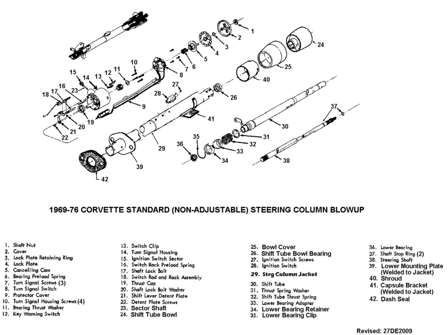 Steering Column Part Id Needed