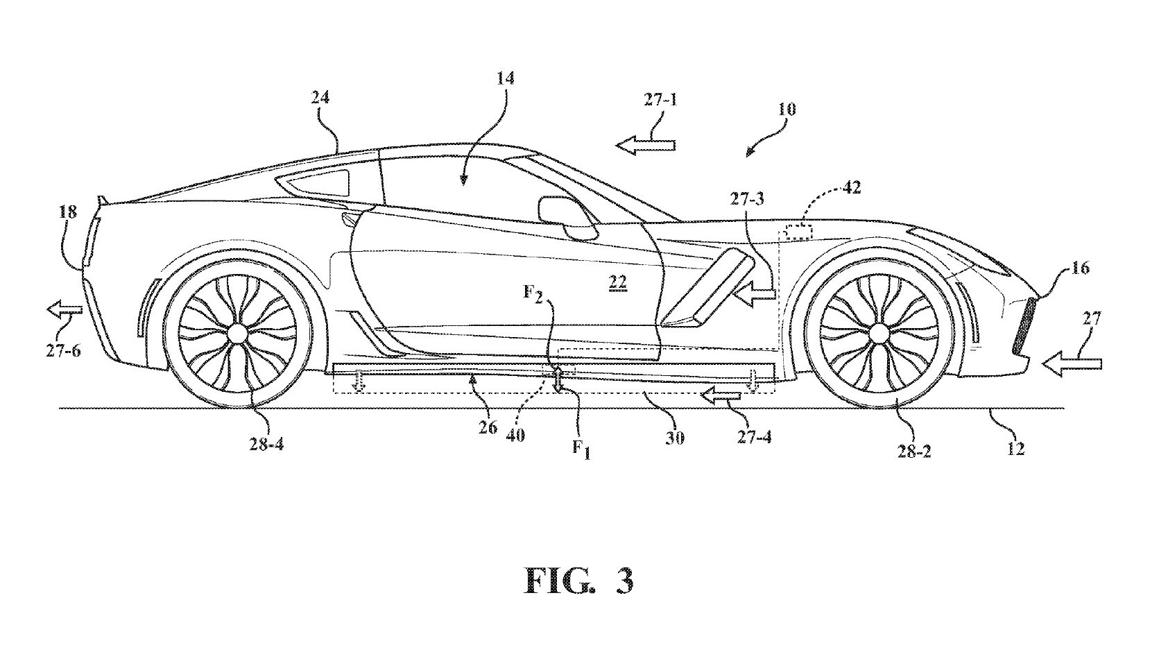 New Me Patents Approved For Active Side Skirts Spoiler