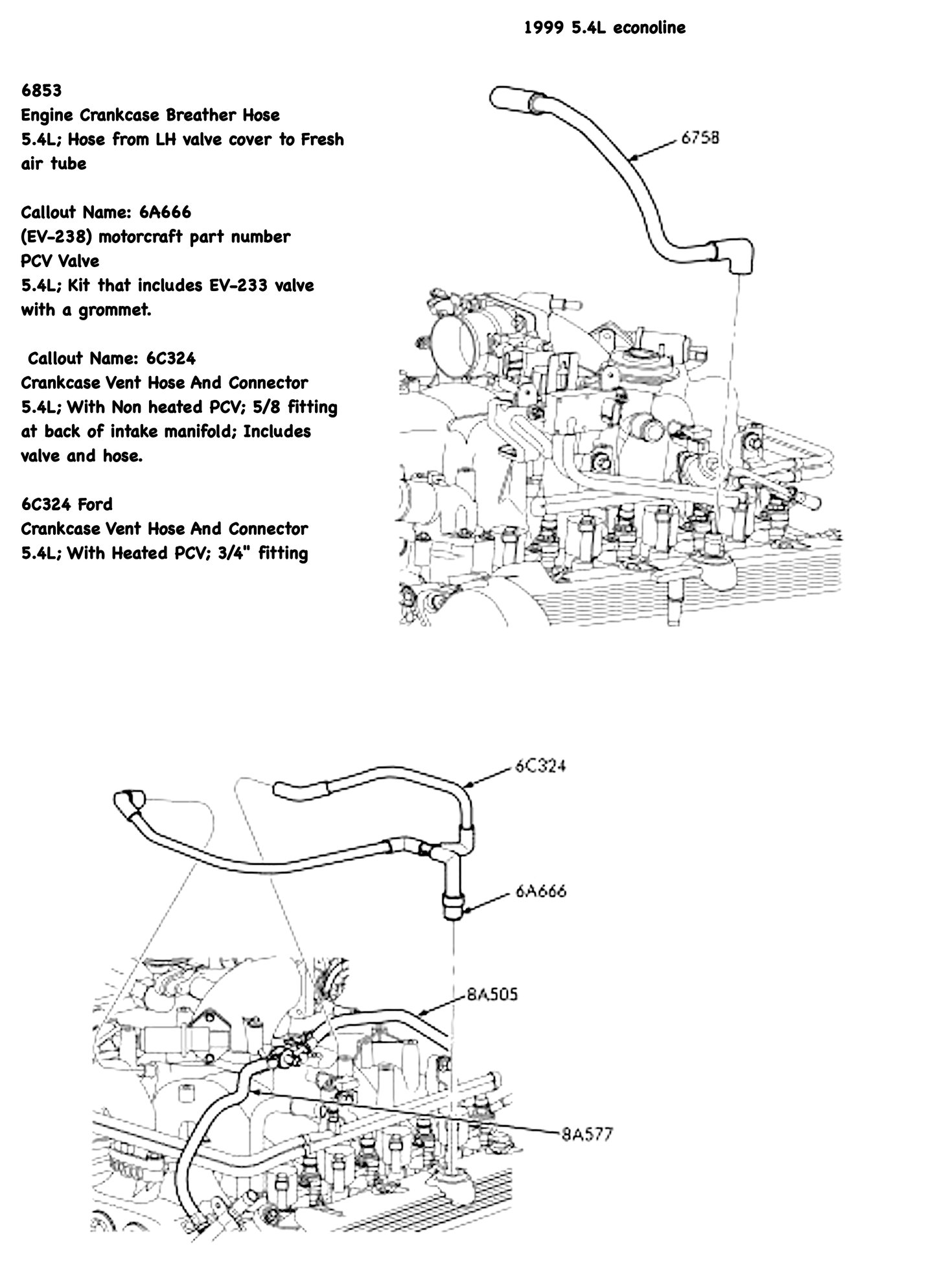 Ford Vacuum Diagram