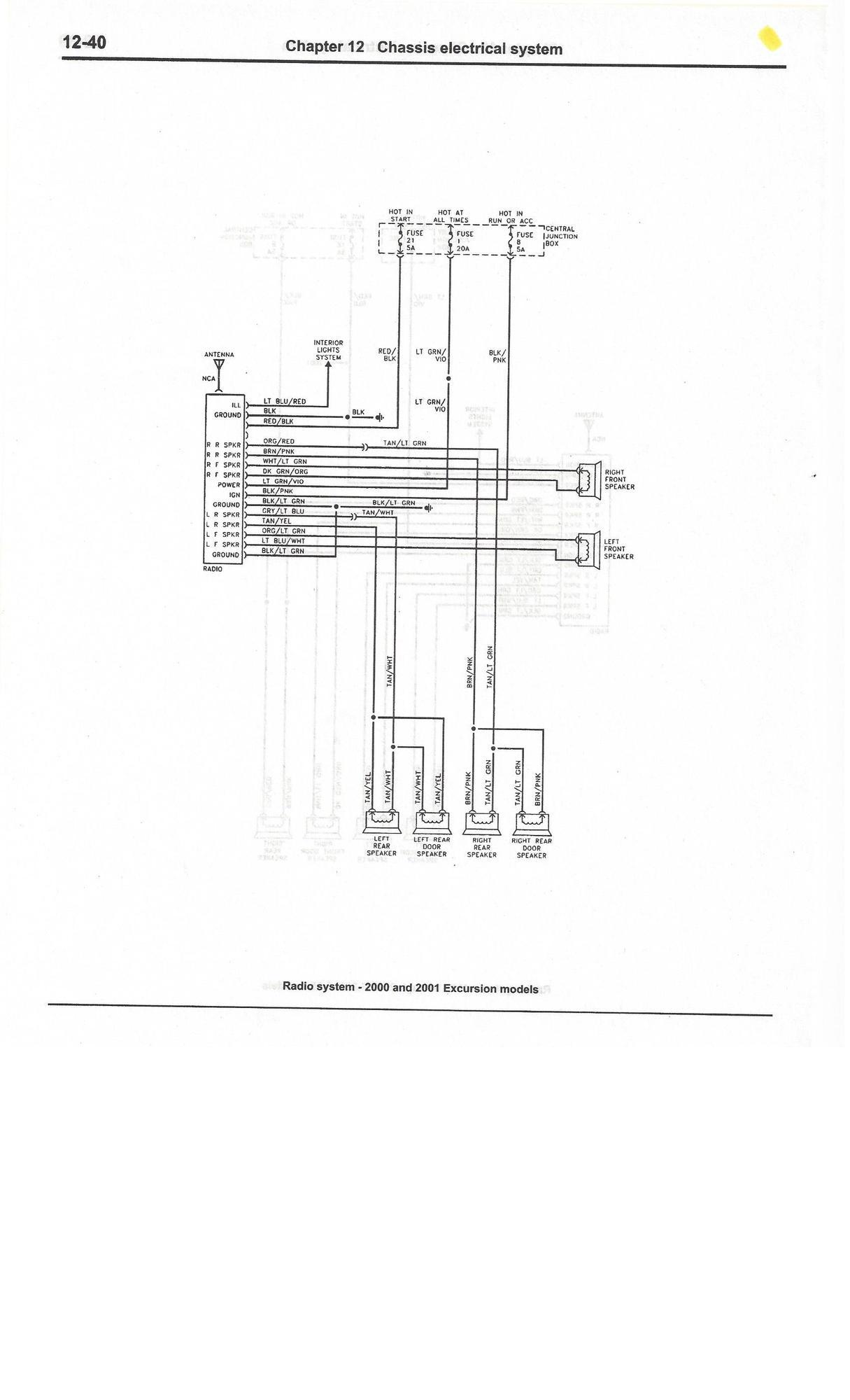 3 Radio Wiring Diagram
