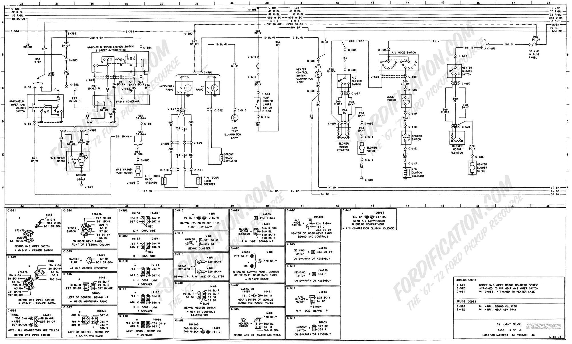 73 F100 Gas Gauge Wiring
