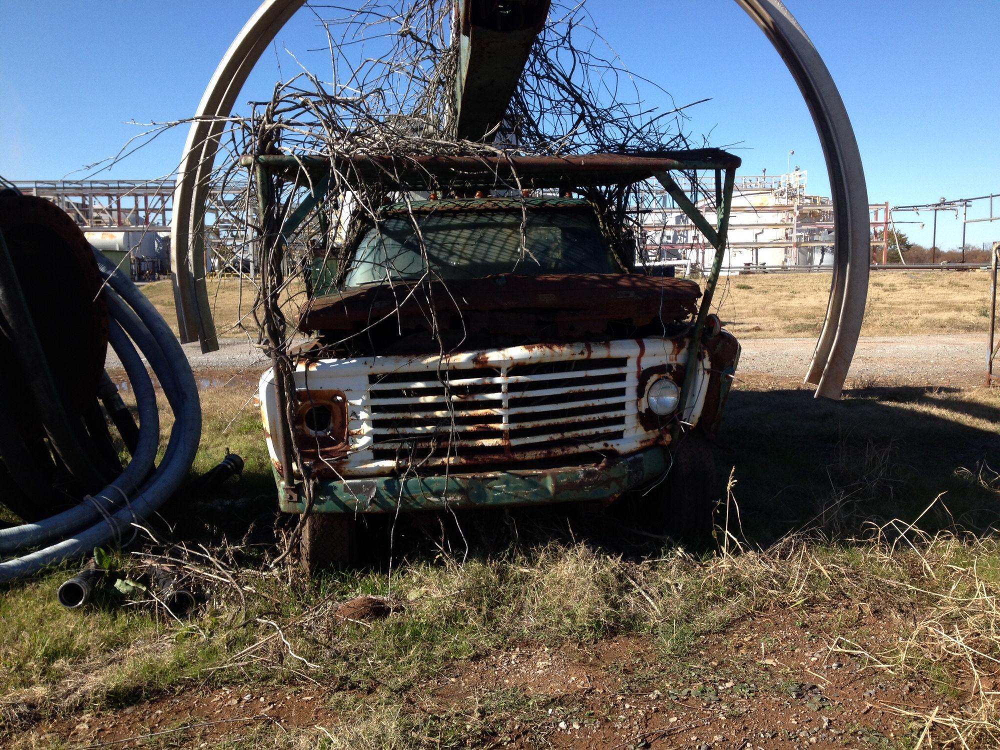 73 Ford F600 Dump Truck 1954