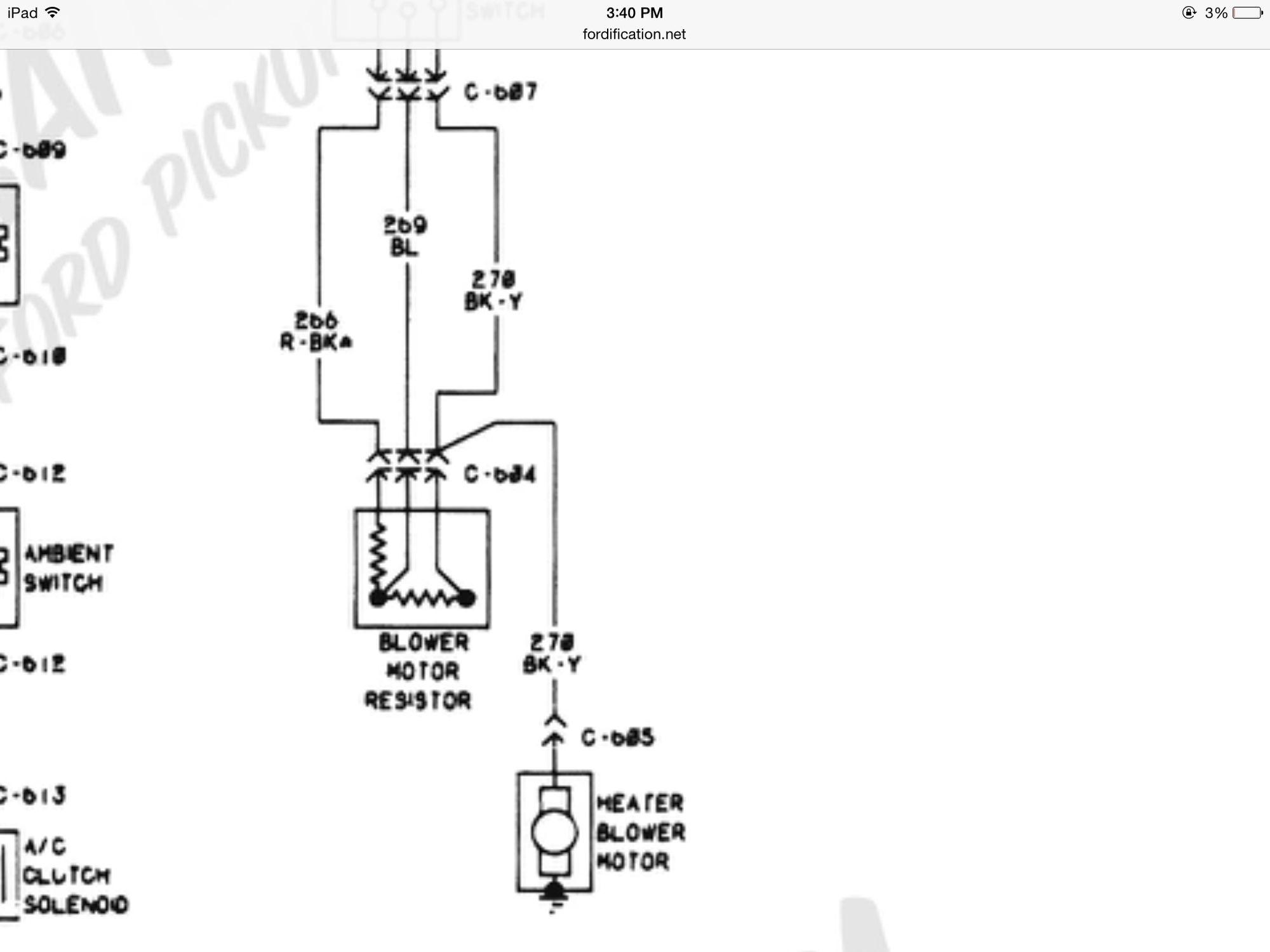 Heater Box Conversion To Non Ac