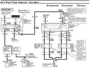 1995 58L F150 Fuel pump andor Dual tank question  Ford
