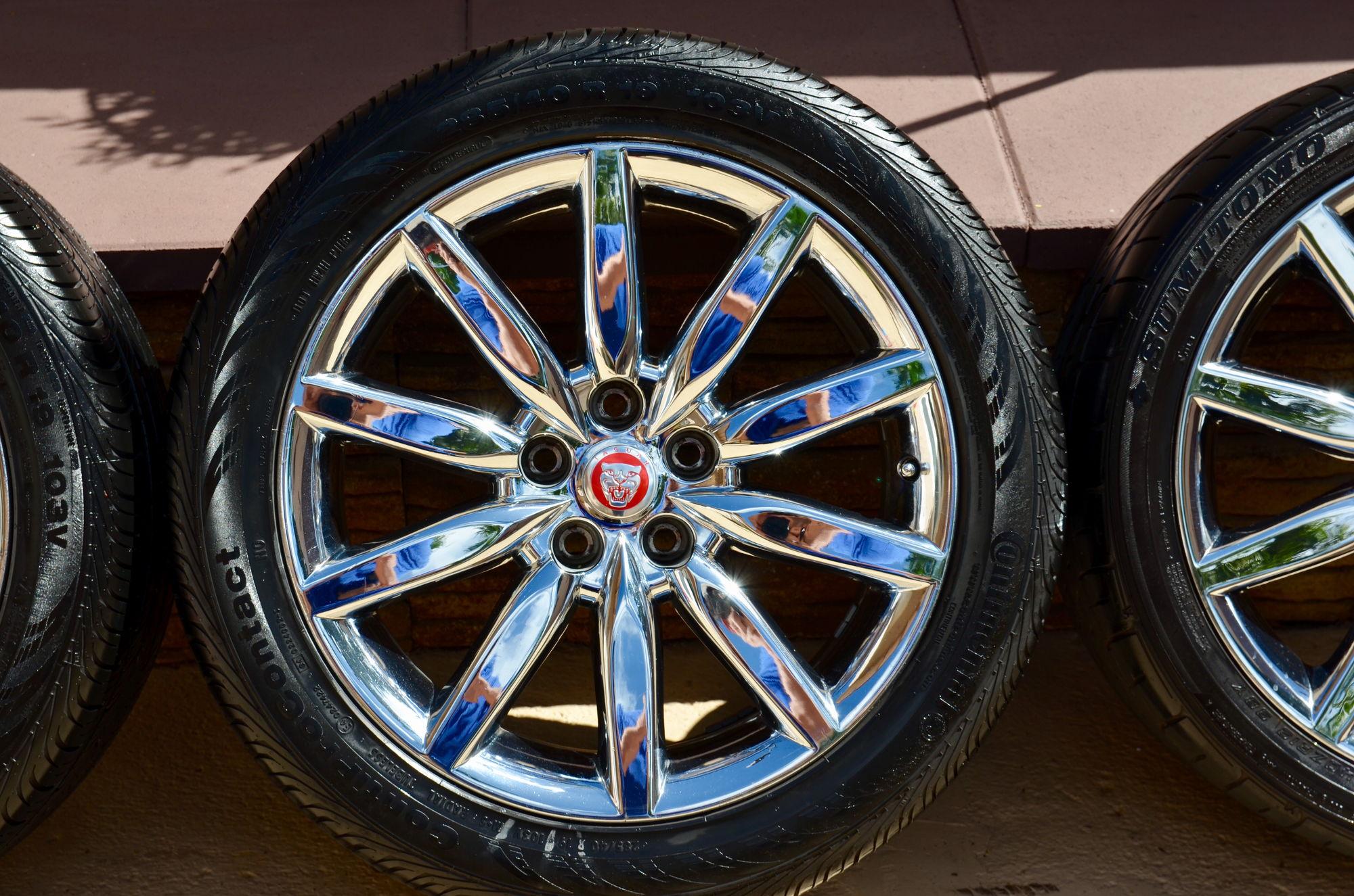 Fs Southeast Jaguar Xk8 Xkr Atlas Chrome Wheels Set Of