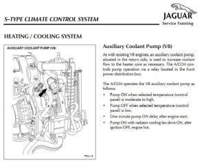 Auxillary Water PumpAircon v8 42  Jaguar Forums