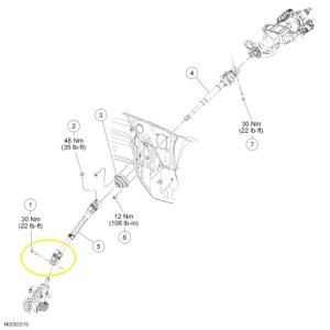 F150 Replace Lower Steering Shaft  FordTrucks