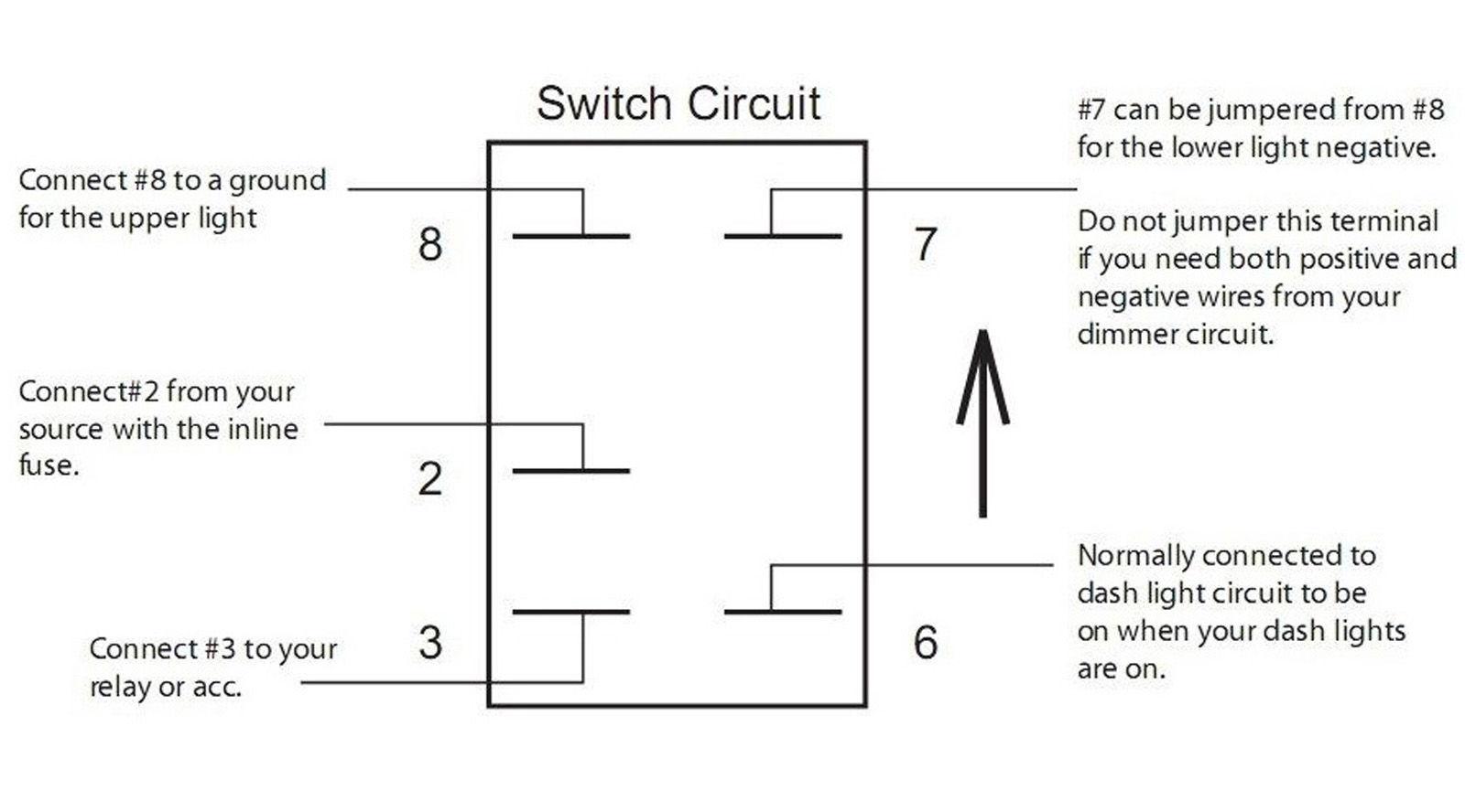 8 Terminal Rocker Switch Wiring Diagram Led 4 Pin Diagram4 Diagrams 5