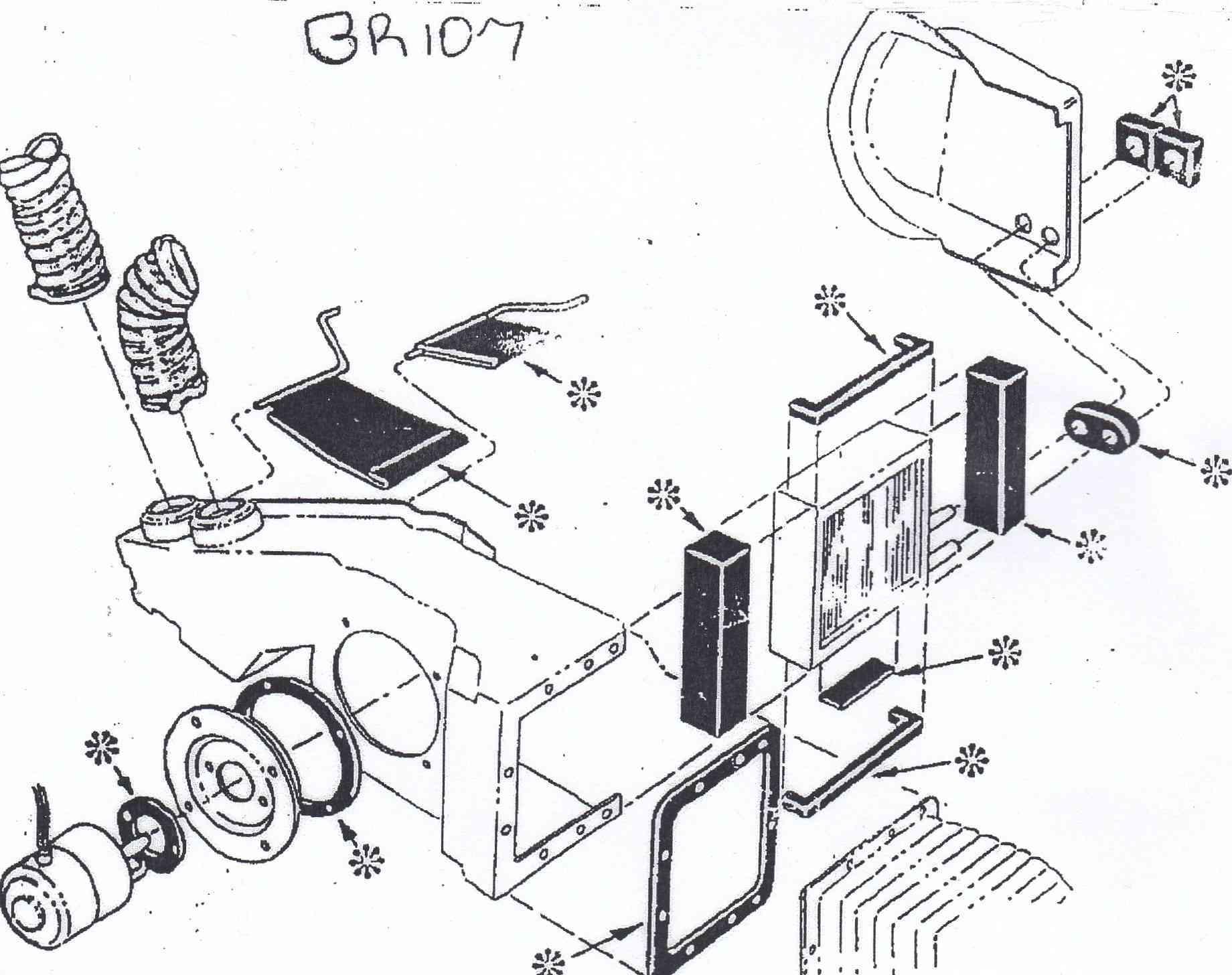 Refurbishing F100 Heater Box