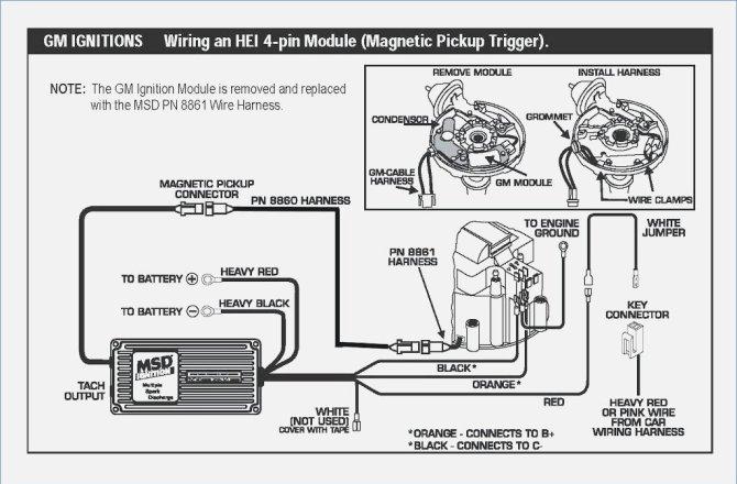 hei distributor wiring diagram 6al  schematic wiring