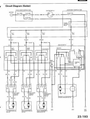 Power Window Overload Protection  HondaTech  Honda