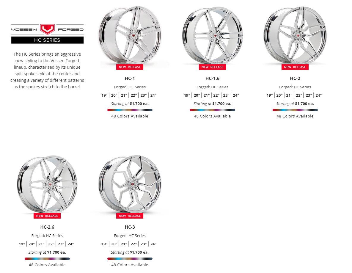 Authorized Dealer Vossen Wheels