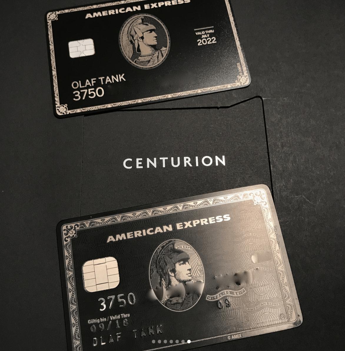 American Express Black Card Replica