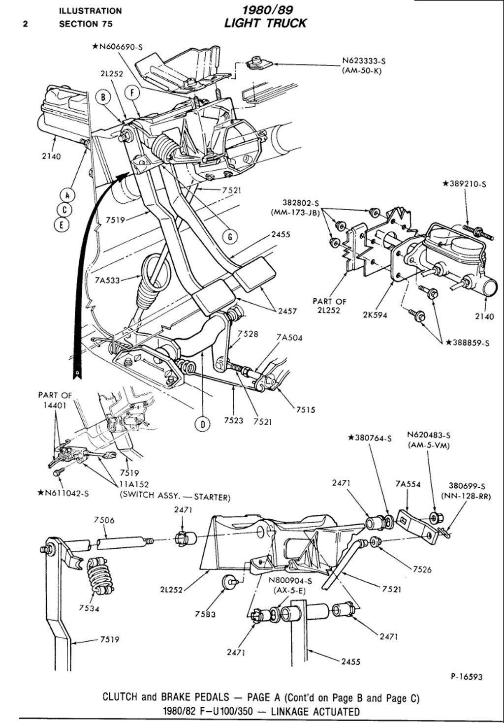 F250 Clutch