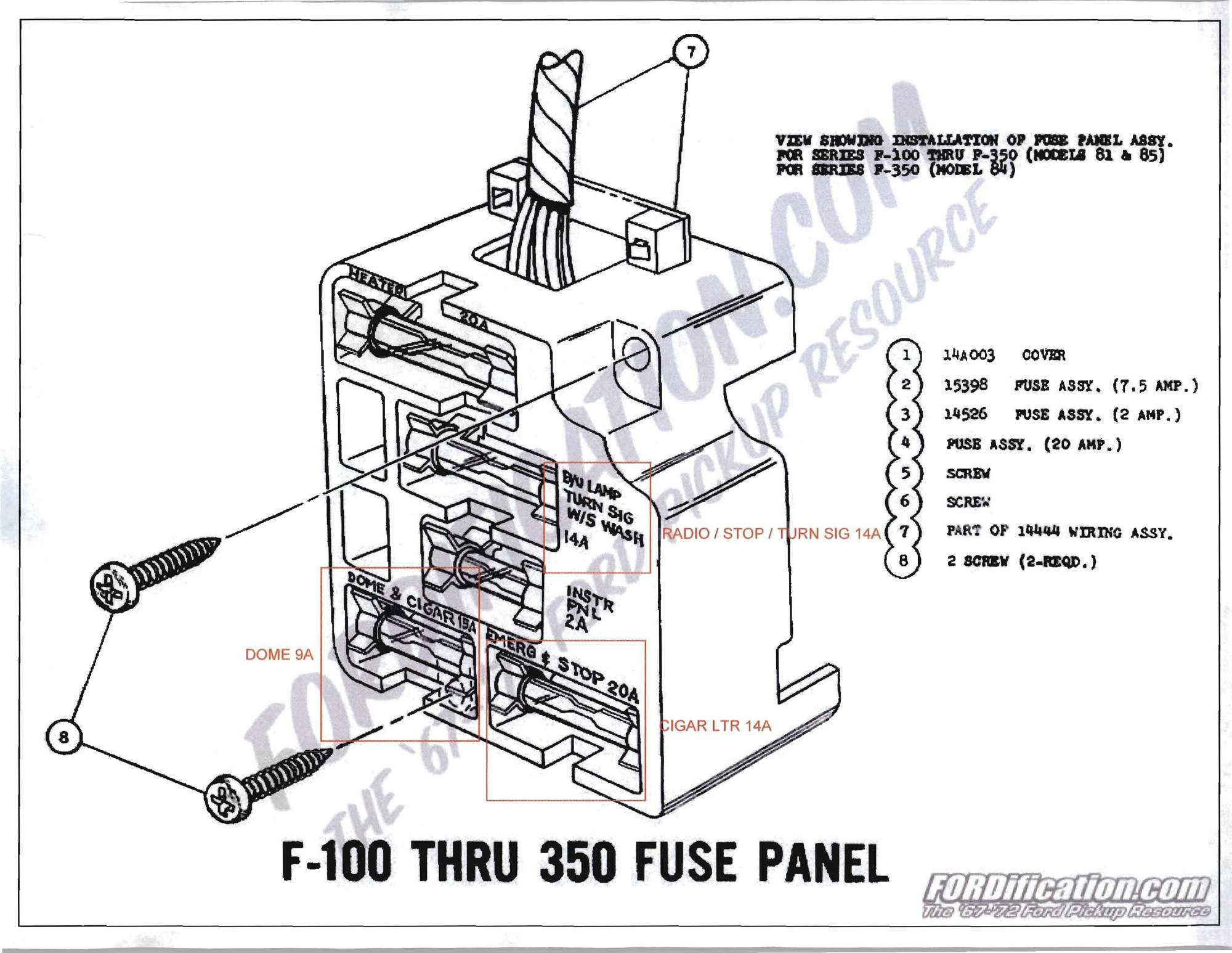 34 Ford F100 Wiring Diagram