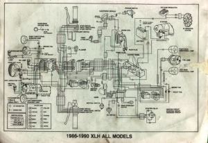 Need a wiring diagram for a 1987 883 Sportster  Harley
