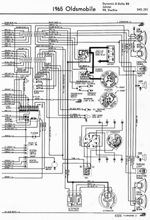 Wiring Diagram for a 1966 Dynamic 88  ClassicOldsmobile
