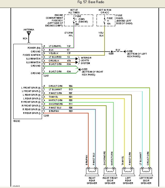 stereo wiring diagram for 2002 ford windstar the wiring ford falcon el radio wiring diagram and hernes